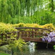 Beautiful Garden Art Art Print by Boon Mee