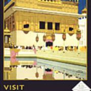 Beautiful India Poster Art Print