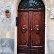 Viaje Beautiful Italian Door Volterre  Art Print