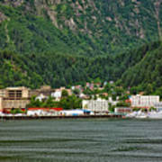 Beautiful Juneau Alaska Art Print