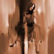 Beautiful Lady 01 Art Print