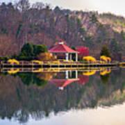 Beautiful Landscape Near Lake Lure North Carolina Art Print