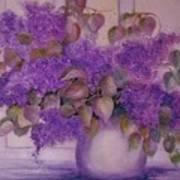 Beautiful Lilacs Art Print