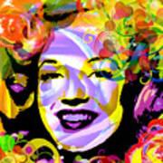 Beautiful Marilyn Monroe Art Print