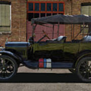 Beautiful Model T Touring Car Art Print