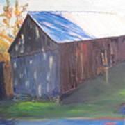 Beautiful Old Barn Art Print