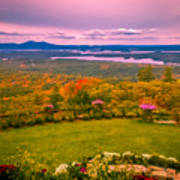 Beautiful Overview Of New Hampshire Art Print
