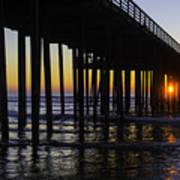 Beautiful Pismo Beach Sunset Art Print