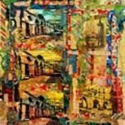 Beautiful Sulmona Italy Art Print