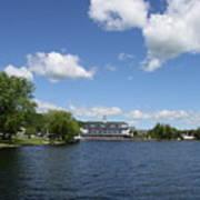 Beautiful Summerday At Lake Winnipesaukee Art Print