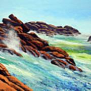 Beautiful Surf Art Print