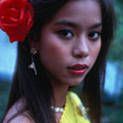 Beautiful Thai Girl Art Print