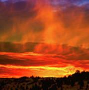 Beautiful Utah Sunset Art Print