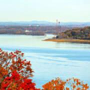 Beautiful View Of The Hudson River 1 Art Print