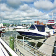 Beautiful View On The Elizabeth 7 Art Print by Lanjee Chee