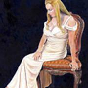 Beautiful Woman Art Print