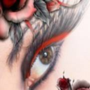 Beauty Beyond The Rose Art Print