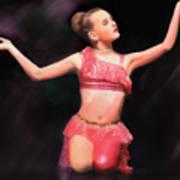 Beauty Dances Art Print