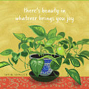 Beauty In Joy Art Print