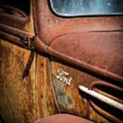 Beauty In Rust Art Print