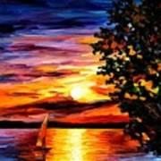 Beauty Of Night Art Print