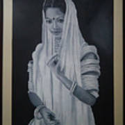 Beauty Of Rajasthan Art Print