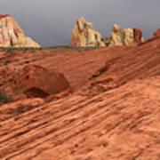 Beauty Of The Sandstone Landscape Art Print