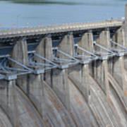 Beaver Dam Spillway Gates Art Print