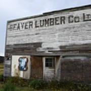 Beaver Lumber Company Ltd Robsart Art Print