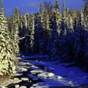 Beaver River Art Print
