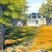 Beaverbrook House Art Print