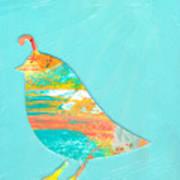Becoming Quail Art Print