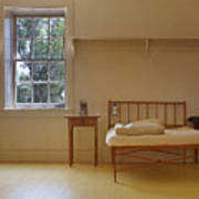 Bed - Infirmary - Fort Larned - Kansas Art Print