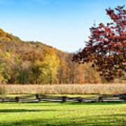 Bedford, Pa Fall Landscape Art Print