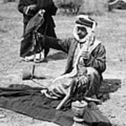 Bedouin Falconer, C1910 Art Print