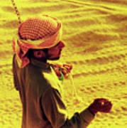 Bedouin Guide Art Print by Elizabeth Hoskinson