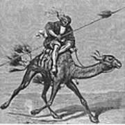 Bedouin Messenger Art Print
