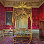 Bedroom At Holkham Hall Art Print