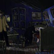 Bedroom In Arles By Night Art Print