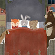 Bedtime Stories Art Print