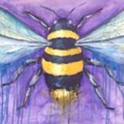 Bee For A Little Bee Art Print