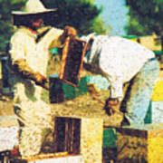 Bee Keepers Art Print