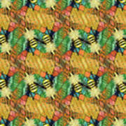 Bee Kind  Morph#2 Art Print