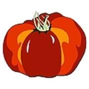 Beefsteak Tomato Art Print