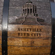 Beer Barrel City Art Print