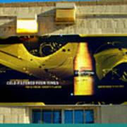 Beer Is Golden-america The Addicted Series Art Print