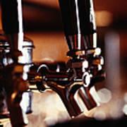 Beer Taps Art Print
