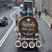Beer Wagon Art Print