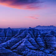 Before Sunrise, Badlands National Park Art Print
