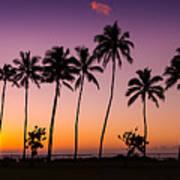 Before Sunrise In Kauai Art Print
